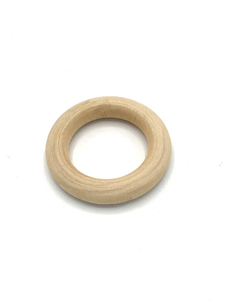 Houten ring 40mm