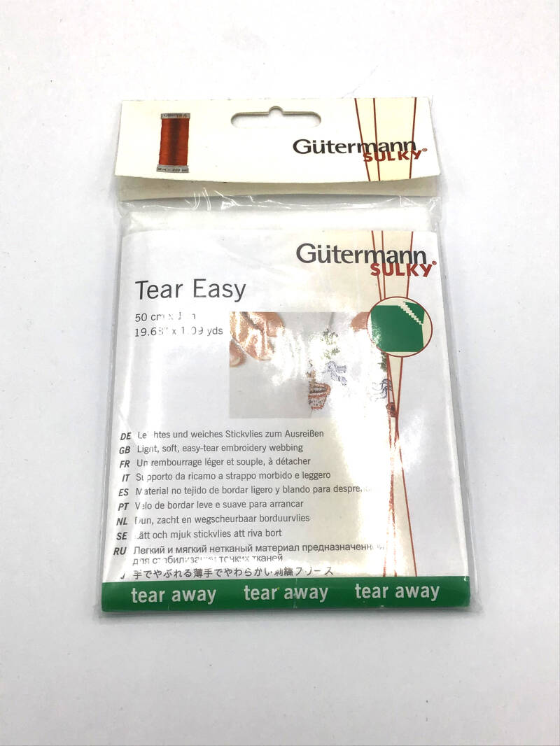 Gutermann Sulky Tear Easy
