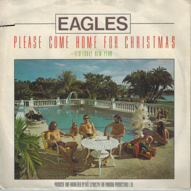Eagles | Single | Please come home for christmas, Funky new year