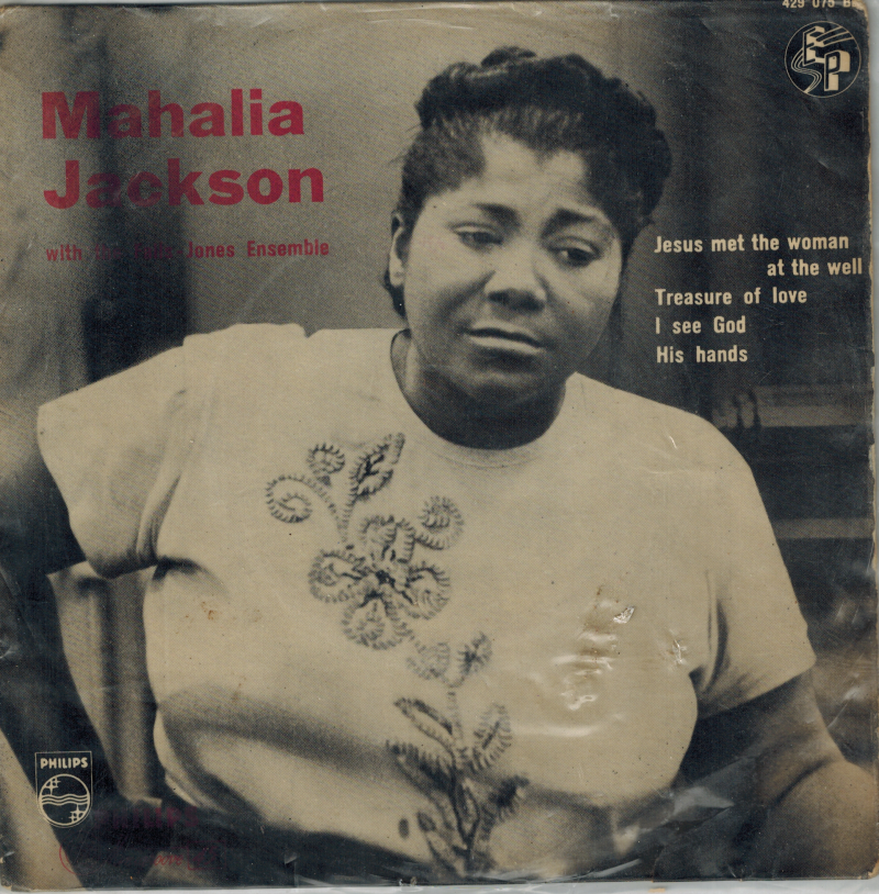 Mahalia Jackson | Single | Jesus met the woman at the well, Treasure of love
