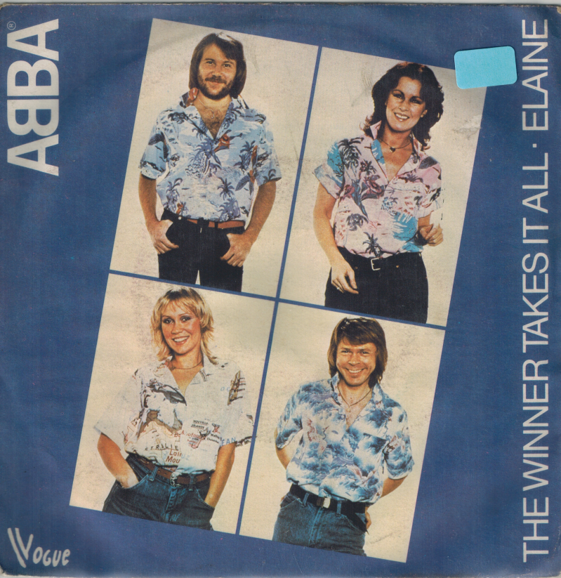 Abba | Single | The winner takes is all, Elaine