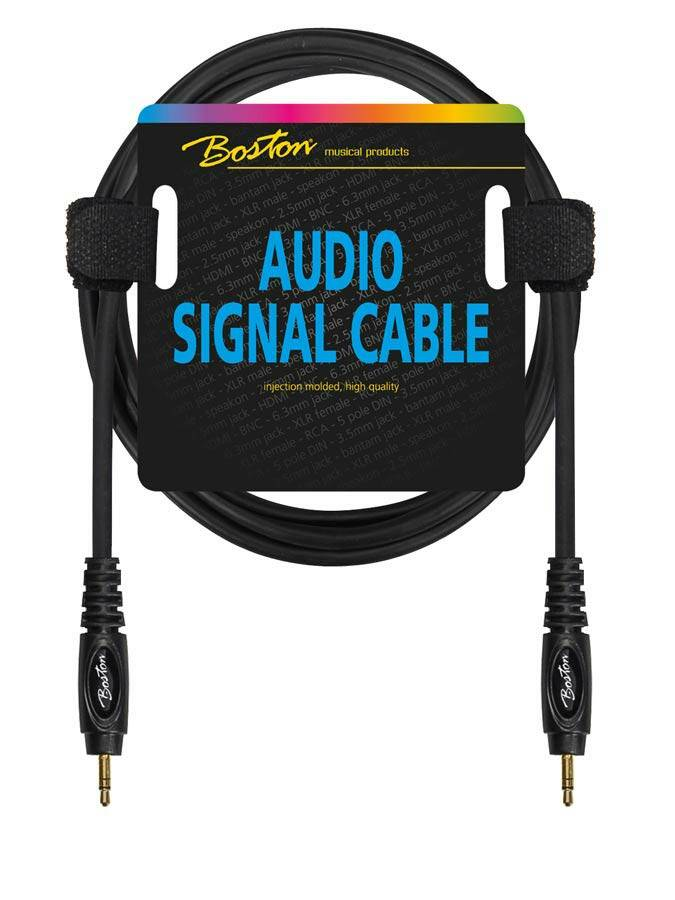 Boston AC266 300 Signaal Kabel Mini Jack Stereo