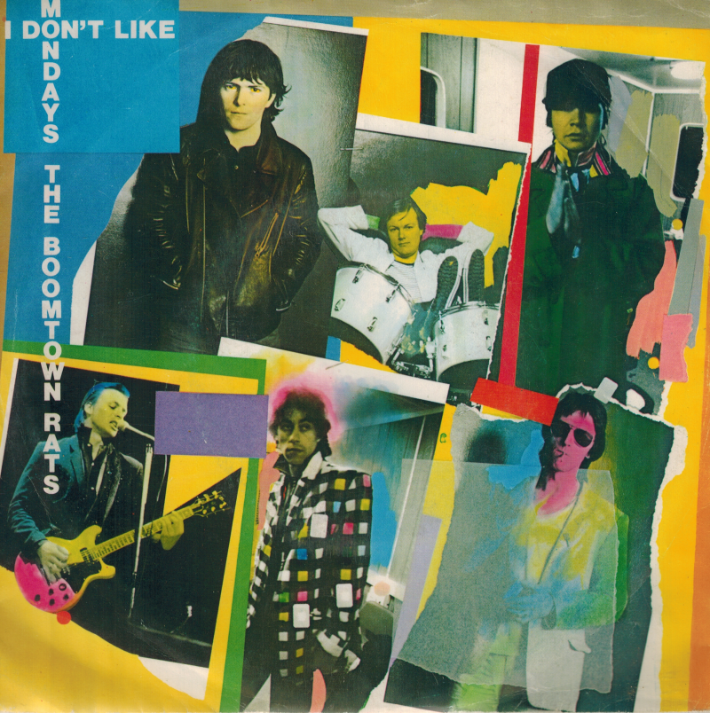the Boomtown Rats | Single | I Don't like mondays, It's all the rage