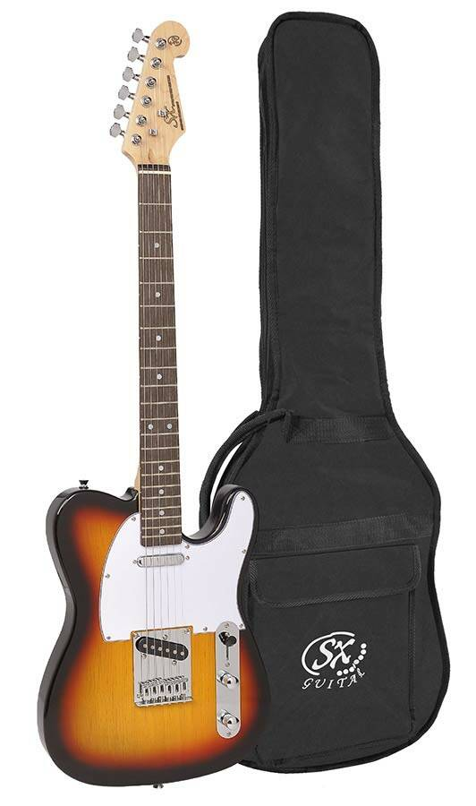 SX Guitars ED23TS Sunburst Telecaster Model