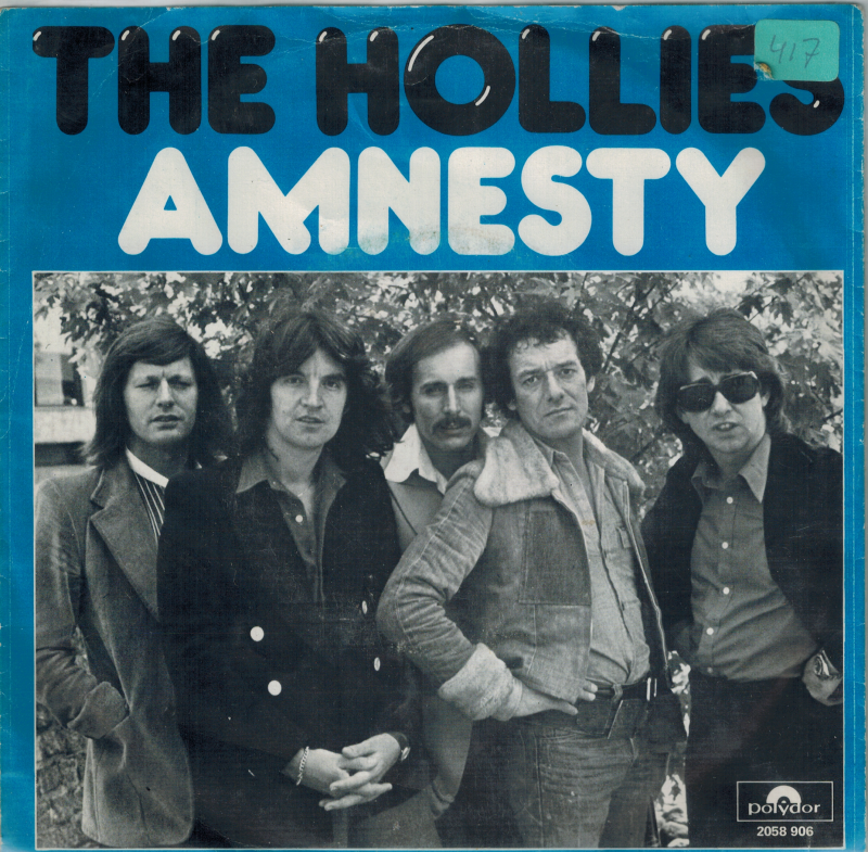 the Hollies | Single | Amnesty, Crossfire