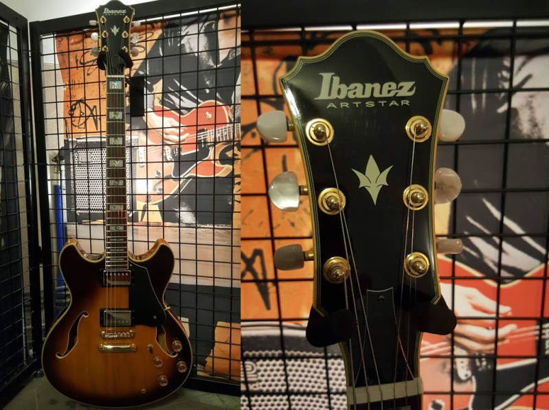 Ibanez AS120 OCCASION (2002 Made in Korea)