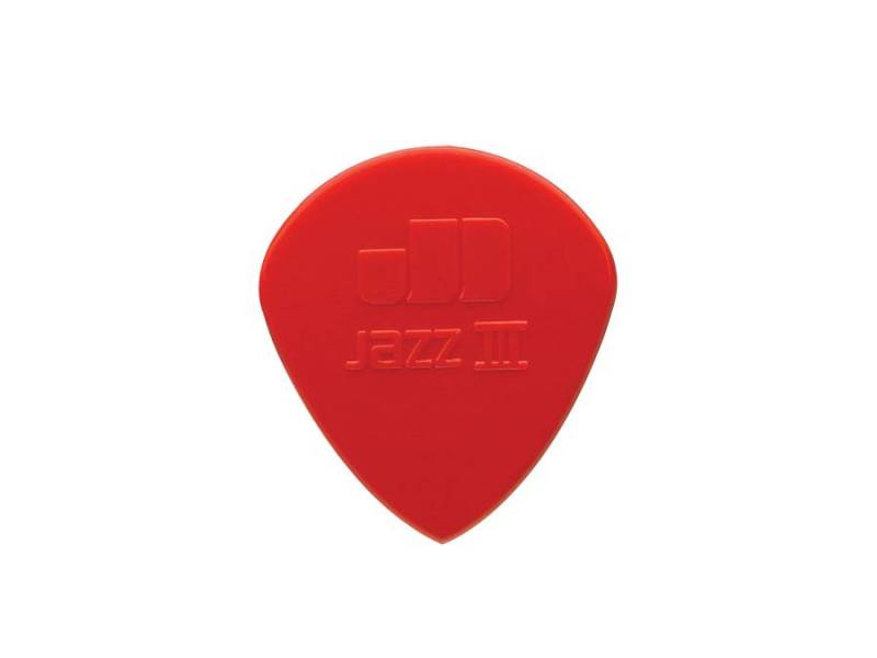 Dunlop Plectra Jazz III Red