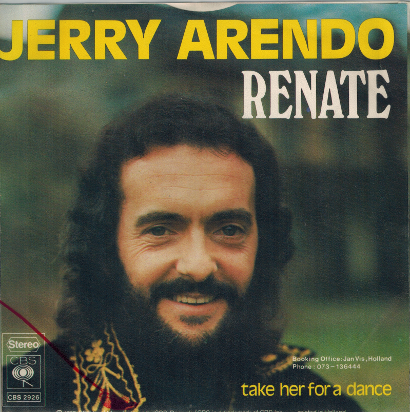 Jerry Arendo | Single | Renate, Take her for a dance