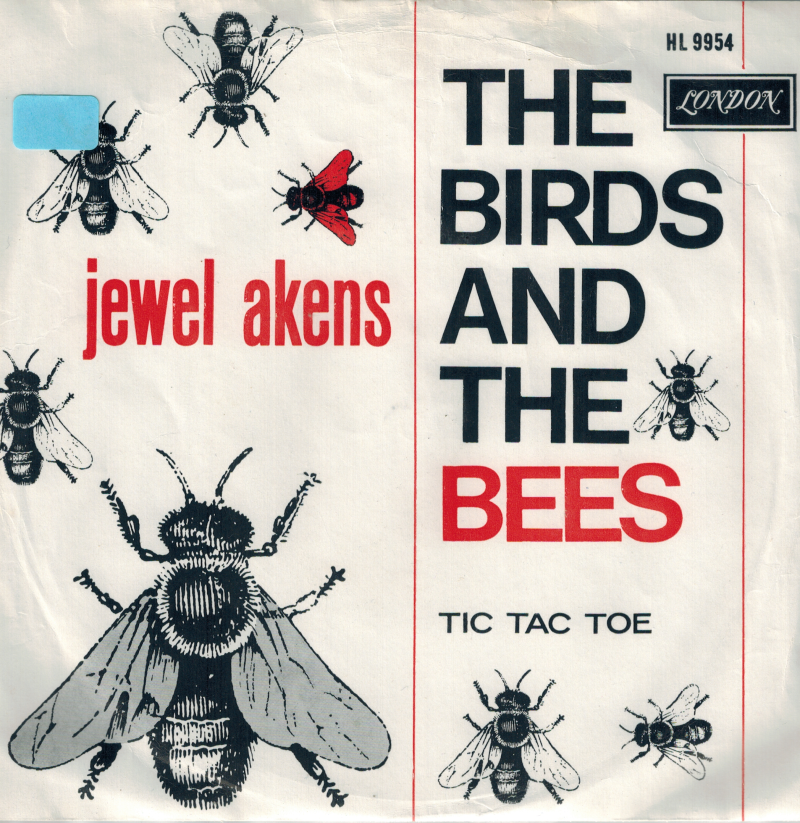 Jewel Akens | Single | The birds and the bees, Tic tac toe