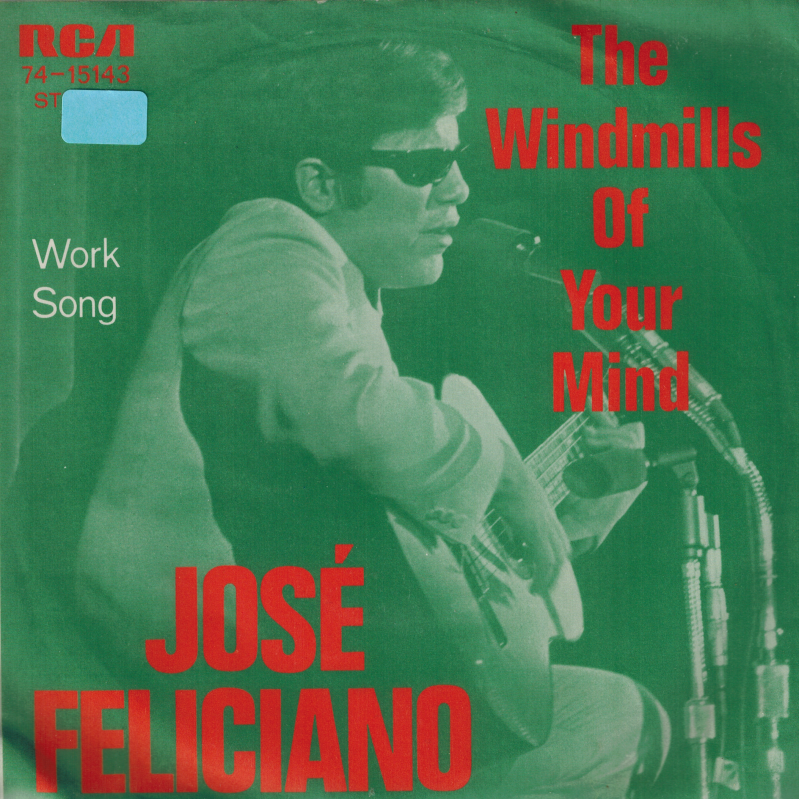 José Feliciano | The windmills of your mind, Work song