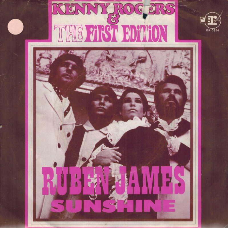 Kenny Rogers & The first edition | Single | Ruben James, Sunshine