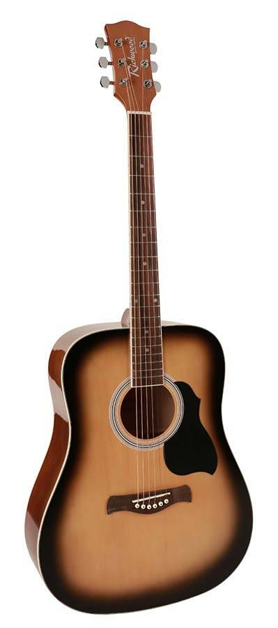 Richwood Artist Series RD12LSB Sunburst Westerngitaar Linkshandig