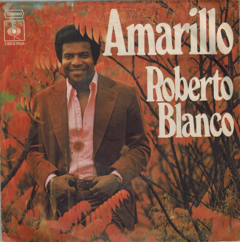 Roberto Blanco | Single | Amarillo, Paraguena