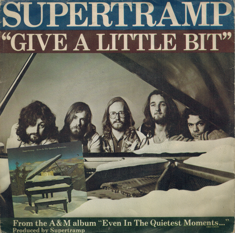 Supertramp | Single | Give a little bit, Downstream