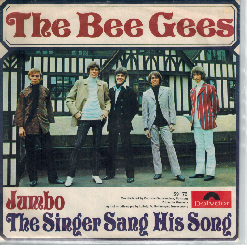 The Bee Gees | Single | Jumbo, The singer sang his song