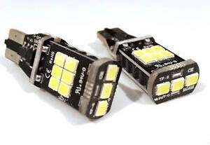 T15 W5W Gold 12 SMD led CANBUS