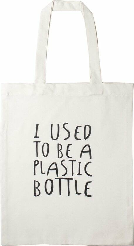 """Tas """"I used to be a plastic bottle""""  Gusta"""
