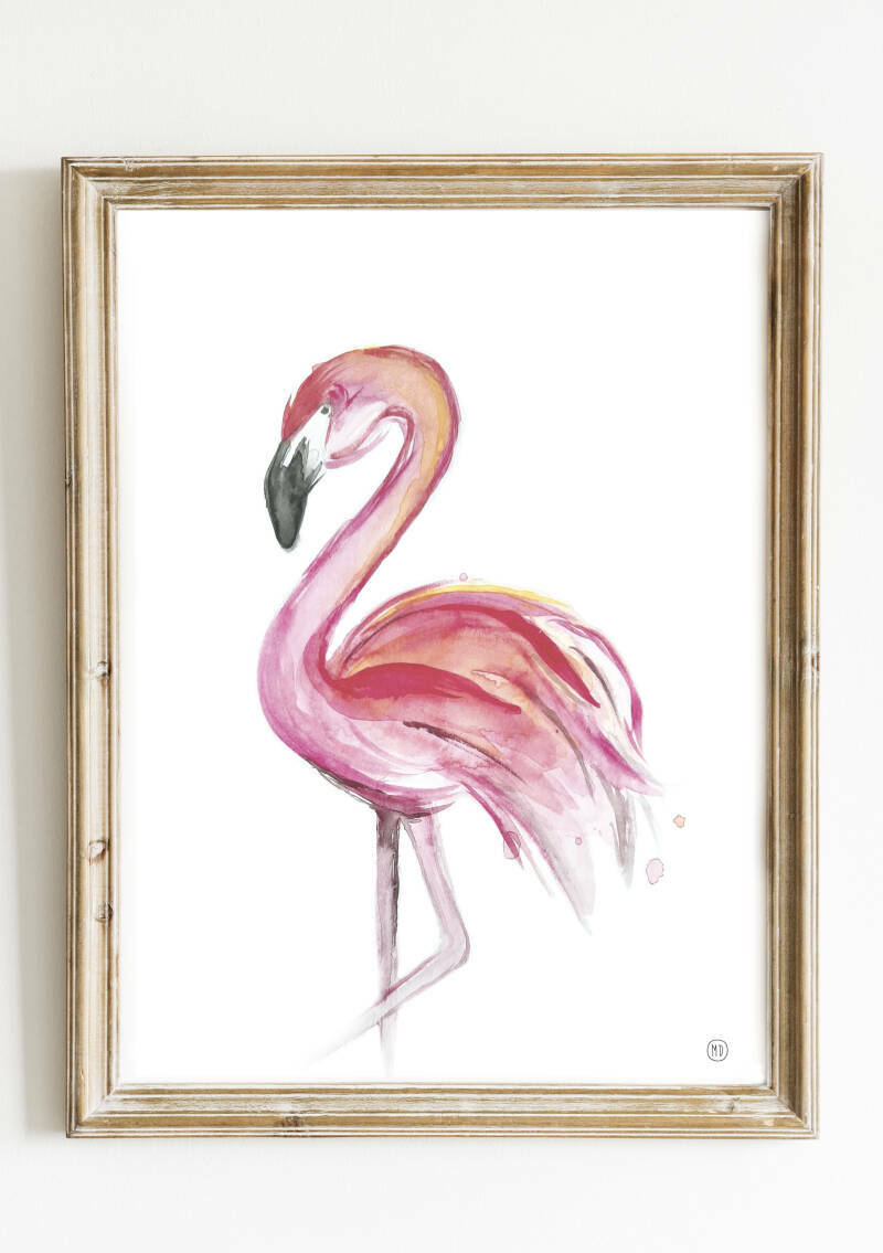 Poster Flamingo | Maria Design