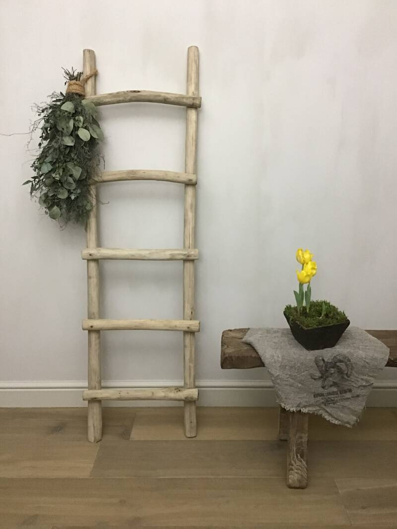 Ladder in hout (20206)