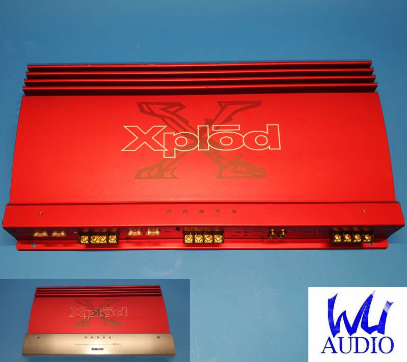 Sony Xplod XM-7547 4 Channel High current SQ Amplifier
