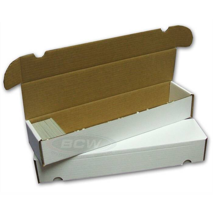 Storage cardbox / fold-out box for 1.000 Cards
