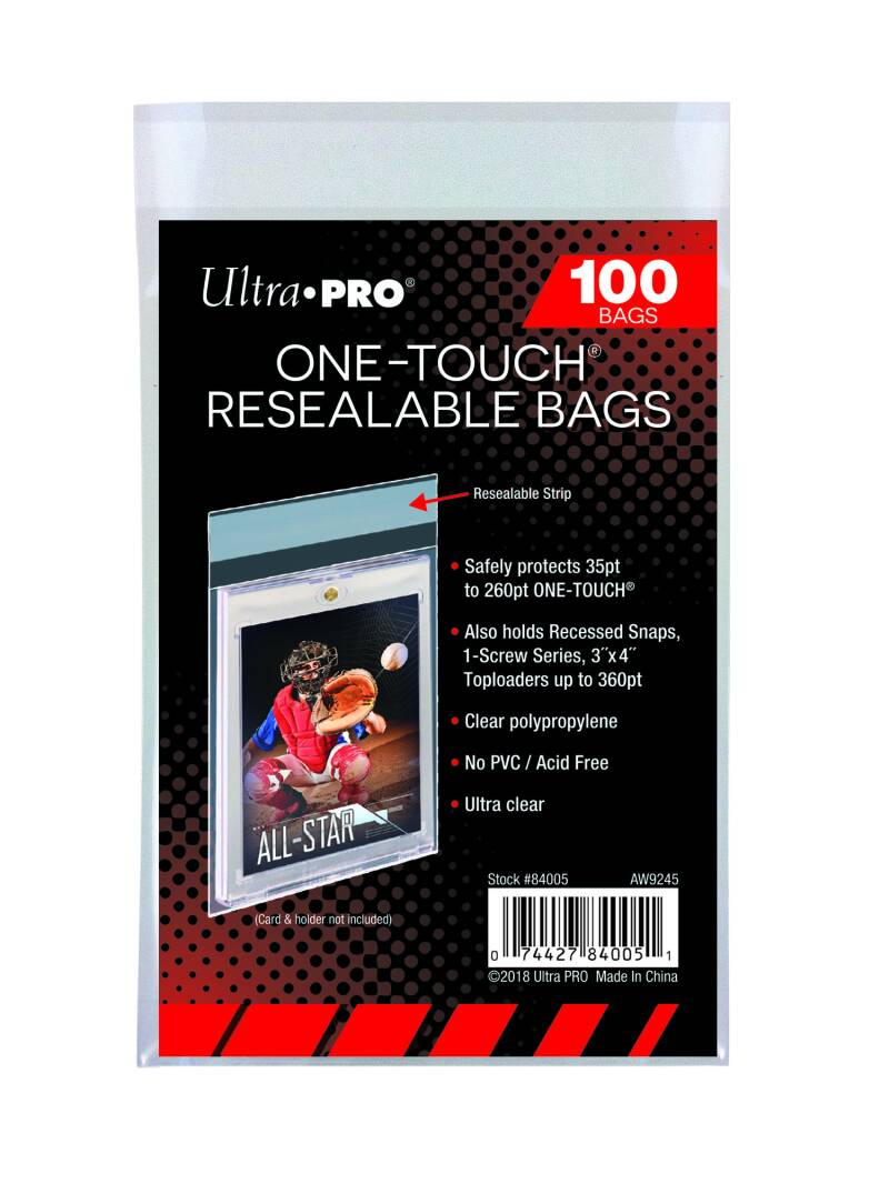 Ultra Pro One-Touch Resealable Bags (100st.)