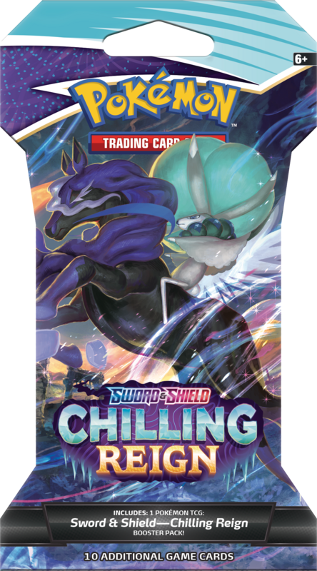 Sword and Shield Chilling Reign Sleeved Booster Packs