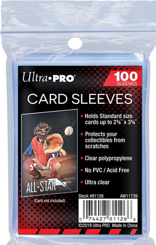 Ultra Pro - Card Sleeves - 100 Pack