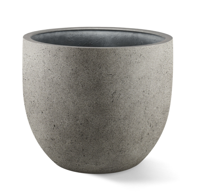 Grigio New Egg pot Natural