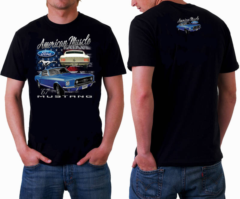 T shirt American Muscle Mustang 67