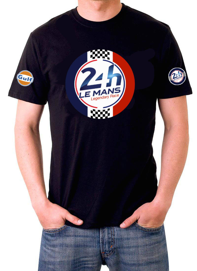 T shirt Le Mans racing