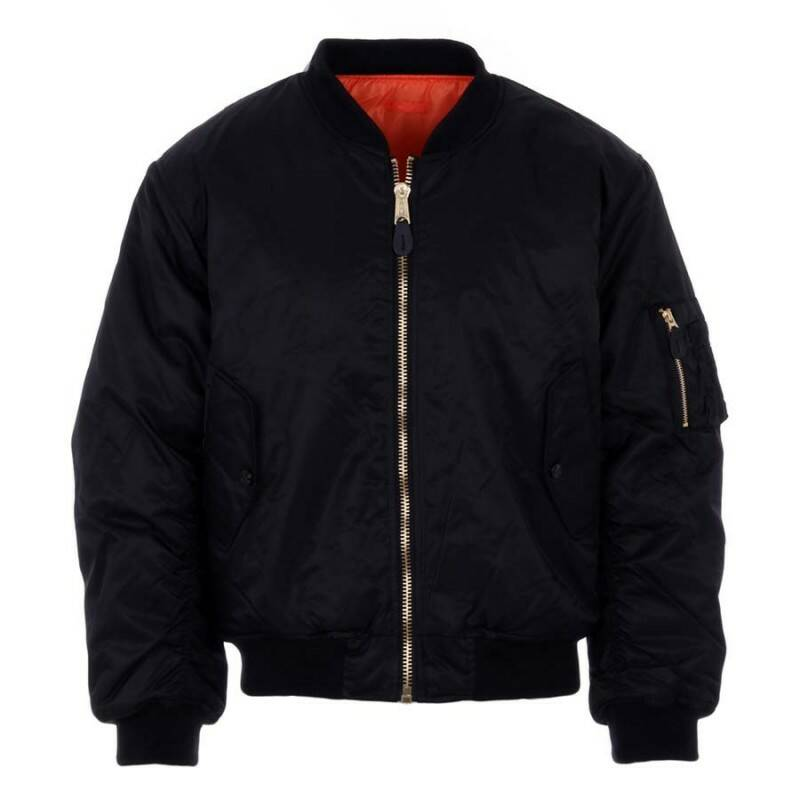 Bomber/Flight jacket zwart/black