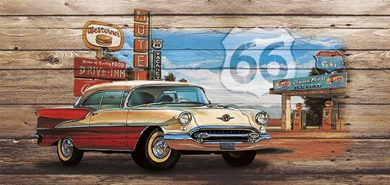 Poster Buick Route 66