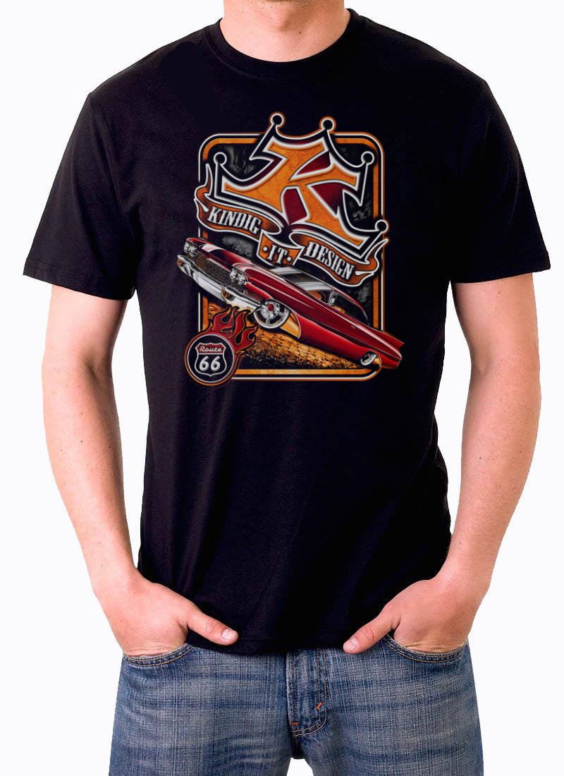 T shirt Kindig It design