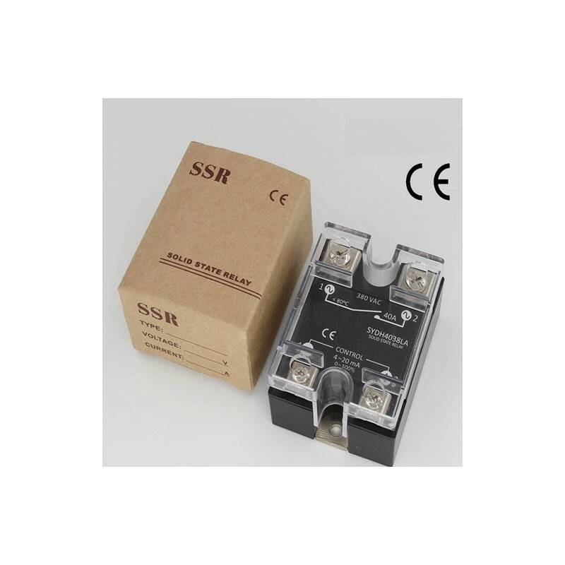 Solid state relais 40A, 0-10Vdc, 24-380v, proportioneel | 51496