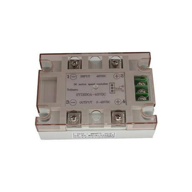 SOLID STATE RELAIS 80A, 0-10VDC, 48VDC, PROPORTIONEEL | 51566