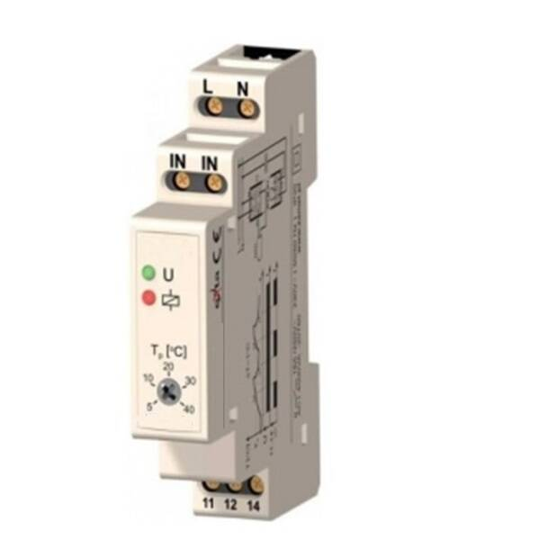 TM01 5~40˚C Din Rail thermostaat | 51767