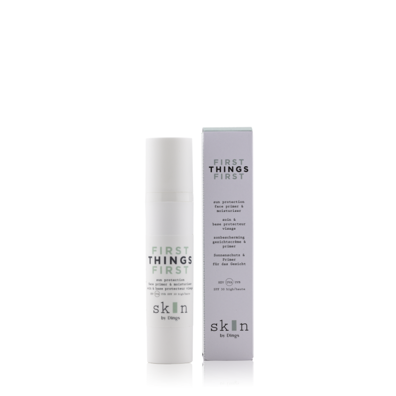 FIRST THINGS FIRST – face primer & moisturizer SPF 30