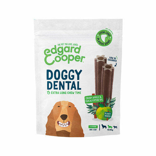 Doggy Dental medium crisp apple & eucalyptus oil