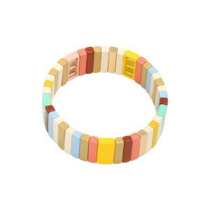 Armband Rectangle Summer Colors