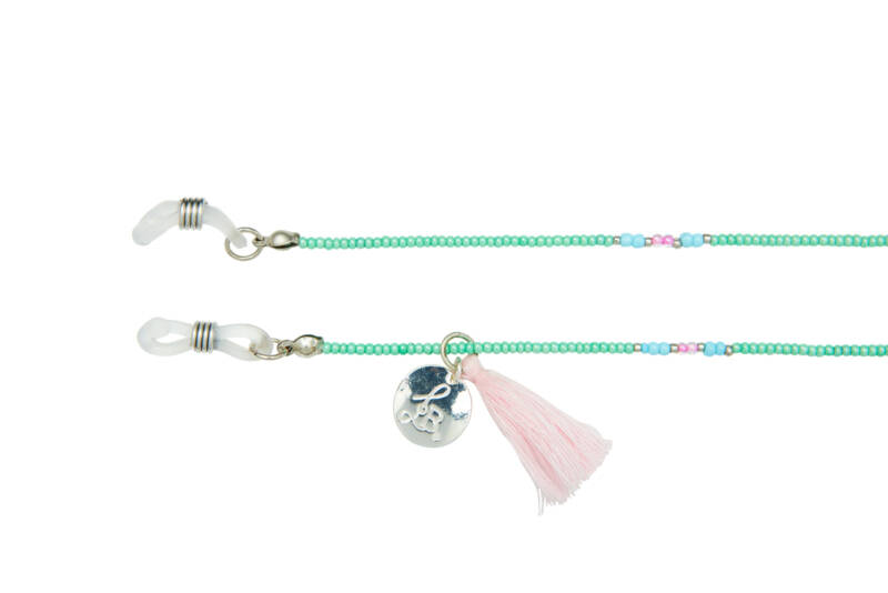 Trendy Items - Happy Beads Suncord - MINT & silver