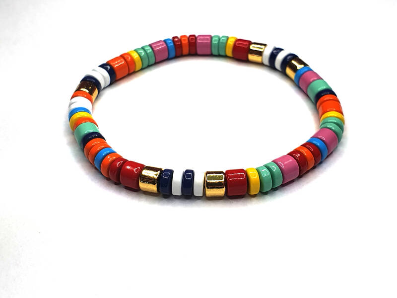 Armband Round Multicolor