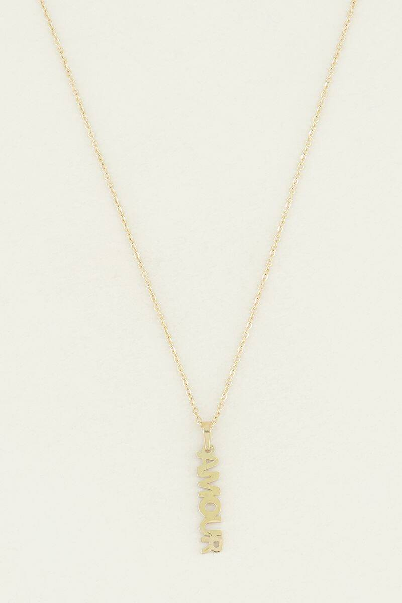 Halsketting - Ketting amour bedel