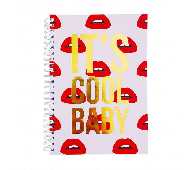 Notebook It's cool baby