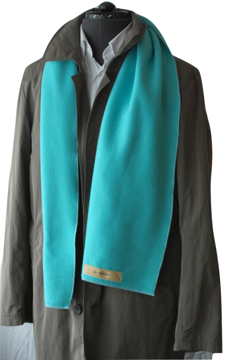 Bluvardi- Fleece Sjaal -Mint