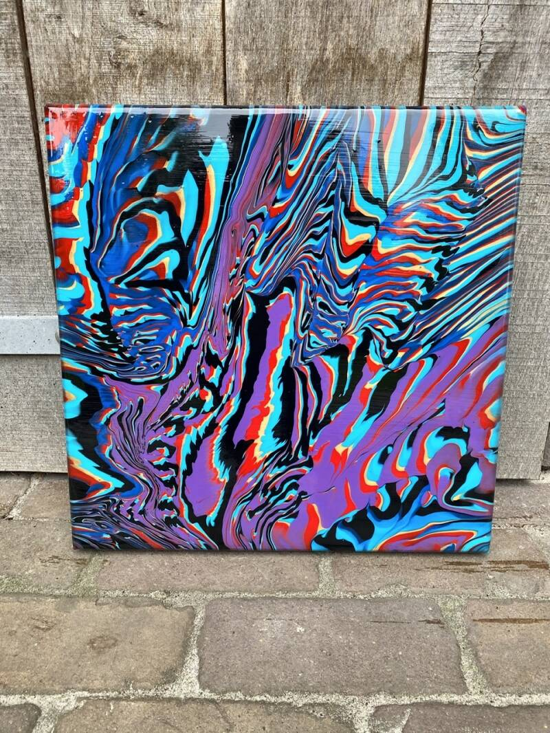 'Past Frequency' 40x40
