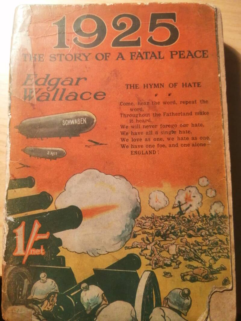Edgar Wallace - 1925 The story of a fatal peace