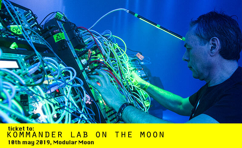 TICKET TO: THE KOMMANDER LAB on the MOON
