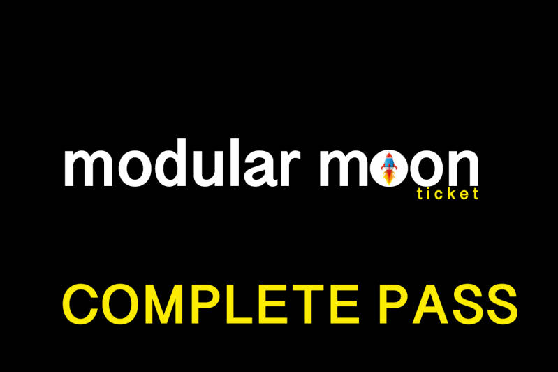 MODULAR MOON BIRTHDAY PARTY COMPLETE TICKET