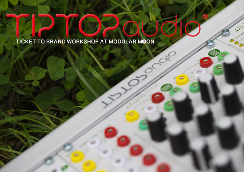 TICKET TO TIPTOP AUDIO WORKSHOP
